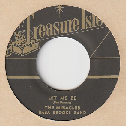 Let Me Be / The Miracles 7′ Treasure Isle (JP) t018