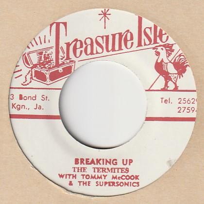 Breaking Up / The Termites 7′ Treasure Isle(JP) t020