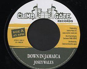 "Josey Wales / Peter Metro [ Down In Jamaica / Bring Reggae Come ]  Climb Gate Records ""Signal Blue "" riddim"