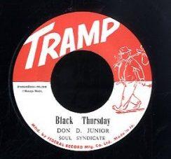 Don D Junior (Vin Gordon) / Earl Bros [ Black Thursday / Beautiful Brown Eyes ][DB016]