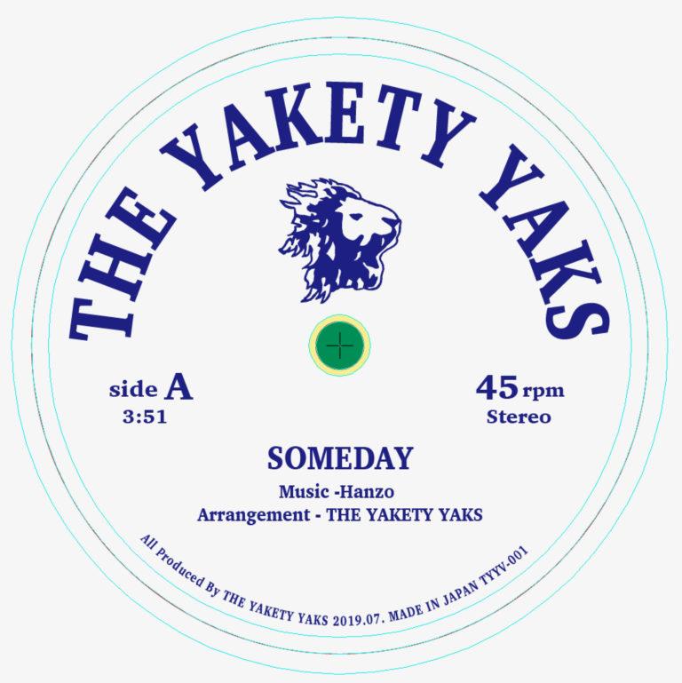TYYV001 [ Someday / 雨の小径 ] The Yakety Yaks  / クスミヒデオ