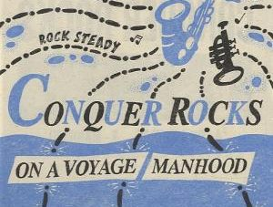 【Zipang Wax】On A Voyage / Manhood – Conquer Rocks CR001