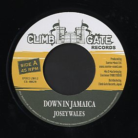 "Josey Wales / Peter Metro [ Down In Jamaica / Bring Reggae Come ]  Climb Gate Records ""Signal Blue "" riddim"
