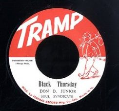 Don D Junior (Vin Gordon) / Earl Bros [ Black Thursday / Beautiful Brown Eyes ][DB016]