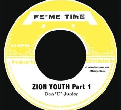 Don D Junior (Vin Gordon) [ Zion Youth ][DB017]