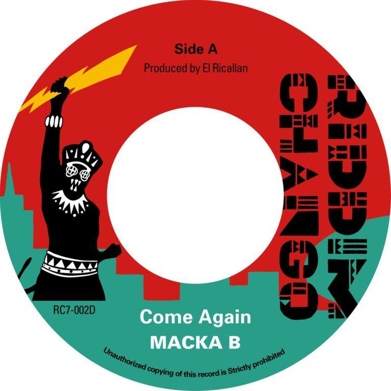【Zipang Wax】Come Again – Macka B| Riddim Chango Records リディム・チャンゴ・レコード RC7-002