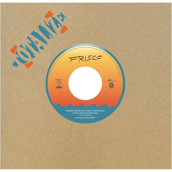 Theme From Electric Surfboard – Frisco (Vortex) 7″