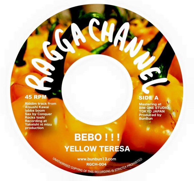 【Zipang Wax】Bebo!!! / Madda Madda – Yellow Teresa / Ninety-U | RGCH-004