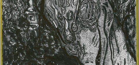 【Yōkai】妖怪博士の晩酌 |05 七度狐 Seven times fox by ラバブン@妖怪画家
