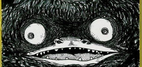 【Yōkai】妖怪博士の晩酌 |04 河童 Kappa Incident by ラバブン@妖怪画家