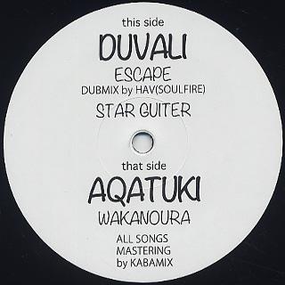 【Zipang Wax】Escape (DUBMIX by HAV (SOULFIRE))- Duvali, |Poi Poi House – Poi Poi 002