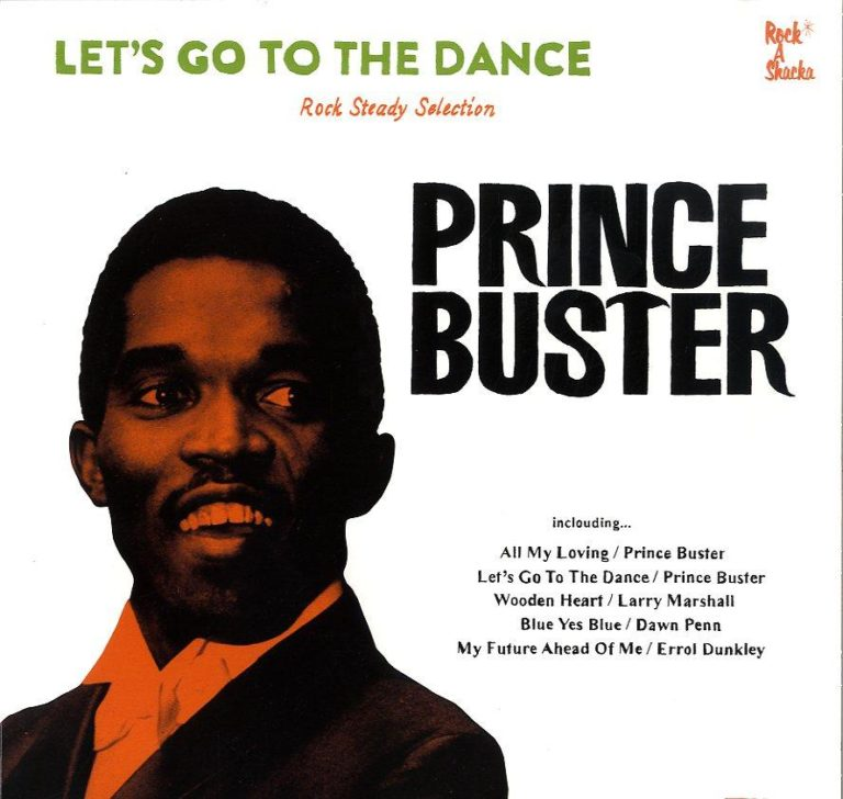 【Zipang Wax】Let's Go To The Dance – Prince Buster|Rock A Shacka DBPBLP-001