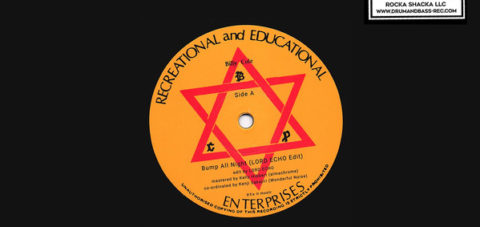【Zipang Wax】Bump All Night (Lord Echo Edit) – Billy Cole |Recreational And Educational Enterprises / Rock A Shacka DB12-001