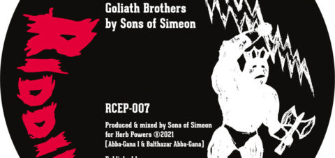 【Zipang Wax】Goliath Brothers – Sons of Simeon|Riddim Chango Records RCEP-007