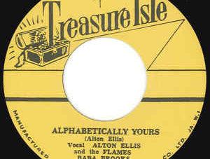 【Zipang Wax】Alphabetically Yours / Alcatraz – Alton Ellis And The Flames &Baba Brooks/Baba Brooks Band|Treasure Isle– T003