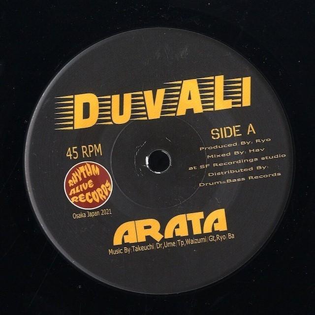 【Zipang Wax】Arata / Golden Shoes – Duvali / Duvali Feat.Chicari |Rhythm Alive Records DA-01