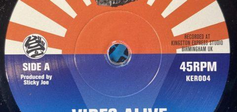 【Zipang Wax】Vibes Alive –  U-Key |Kingston Express Records KER004
